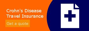 crohns disease travel insurance